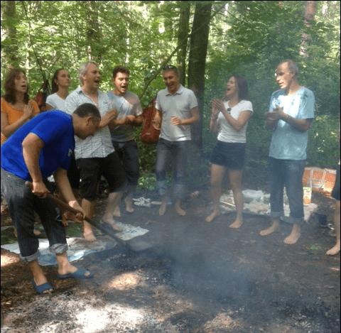 тренинг хождение по углям