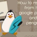 Как вывести сайт из под фильтра Пингвин: инструкции